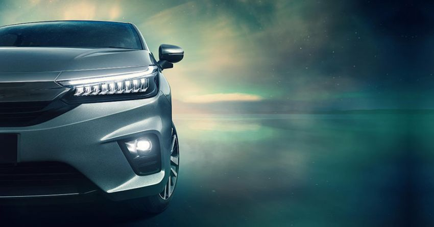 2020 Honda City previewed for India – 1.5L engines, LaneWatch, semi-digital instrument cluster, sunroof Image #1132951