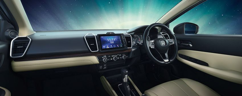 2020 Honda City previewed for India – 1.5L engines, LaneWatch, semi-digital instrument cluster, sunroof Image #1132954