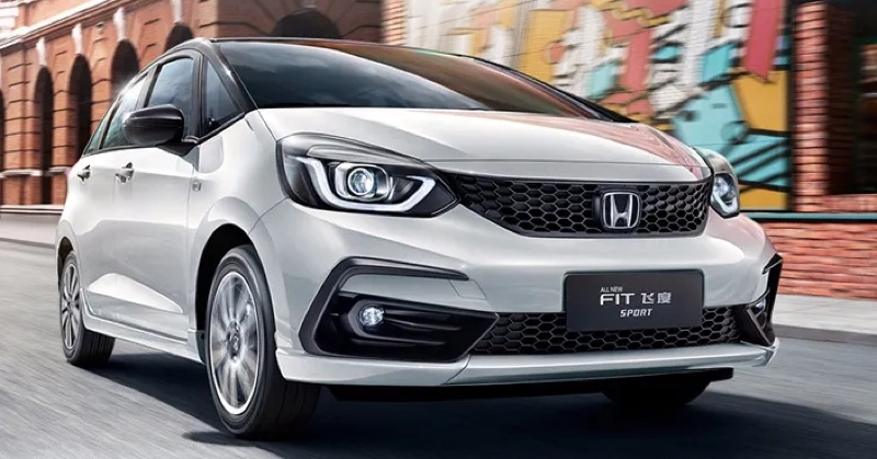 2020 Honda Jazz debuts in China with new front end Image #1131362