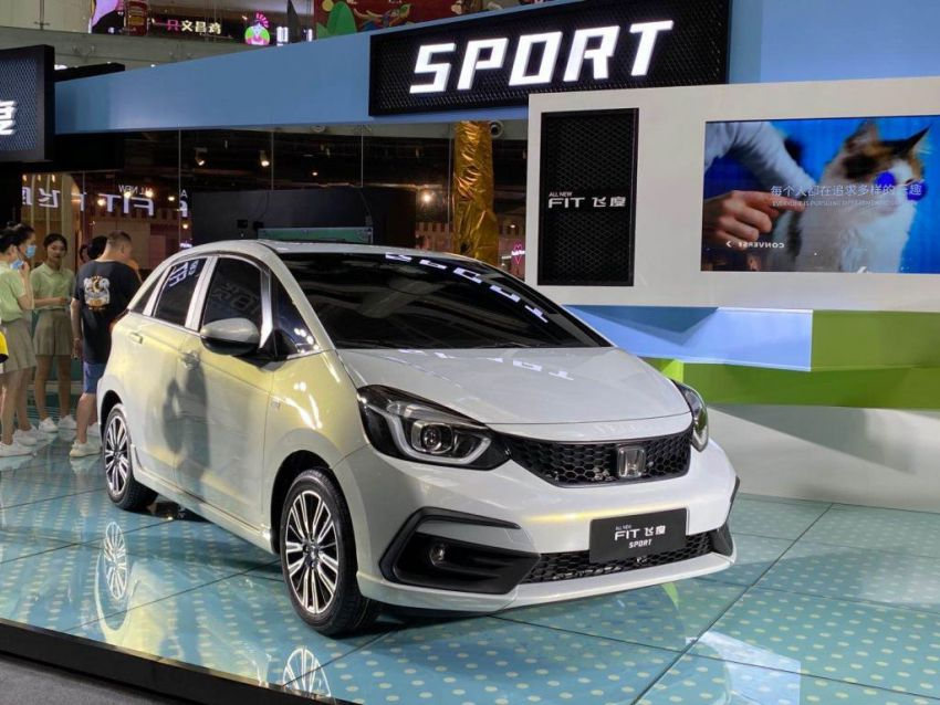 2020 Honda Jazz debuts in China with new front end Image #1131366