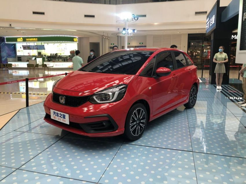 Honda Jazz masuk pasaran China dengan muka baru Image #1131455