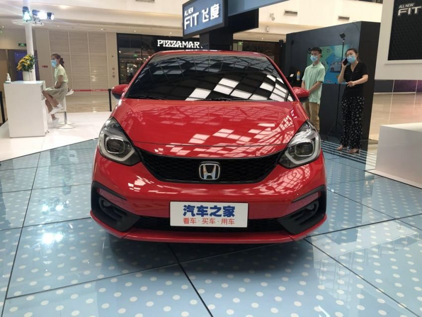 2020 Honda Jazz debuts in China with new front end Image #1131368