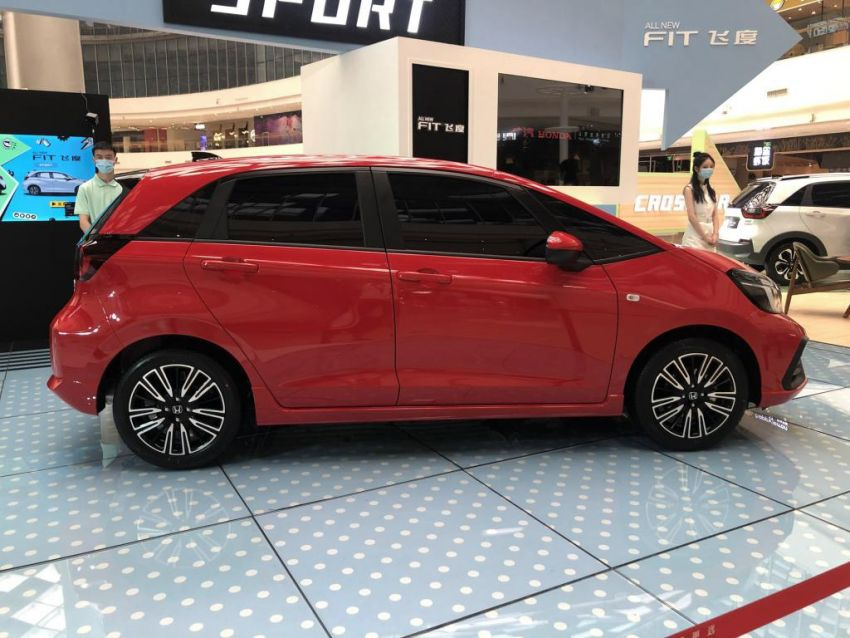 2020 Honda Jazz debuts in China with new front end Image #1131370