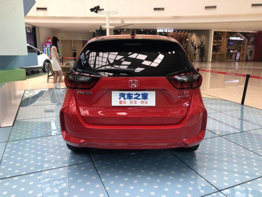 Honda Jazz masuk pasaran China dengan muka baru Image #1131451