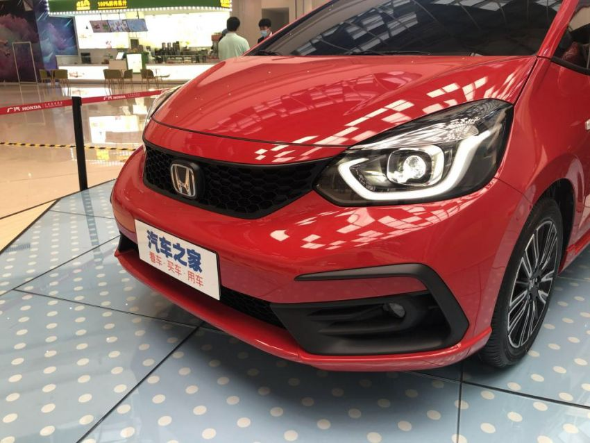 2020 Honda Jazz debuts in China with new front end Image #1131372