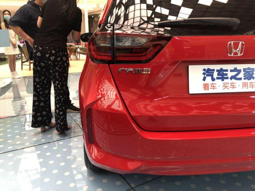 Honda Jazz masuk pasaran China dengan muka baru Image #1131448