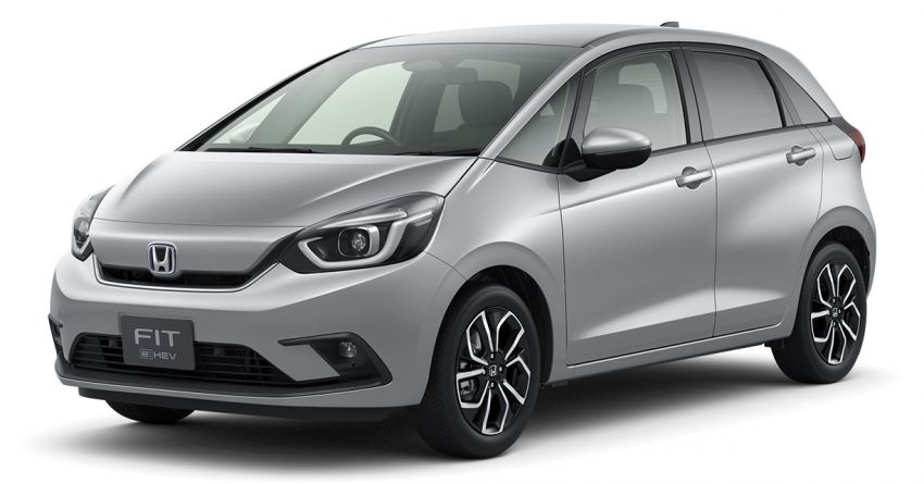 2020 Honda Jazz debuts in China with new front end Image #1131401