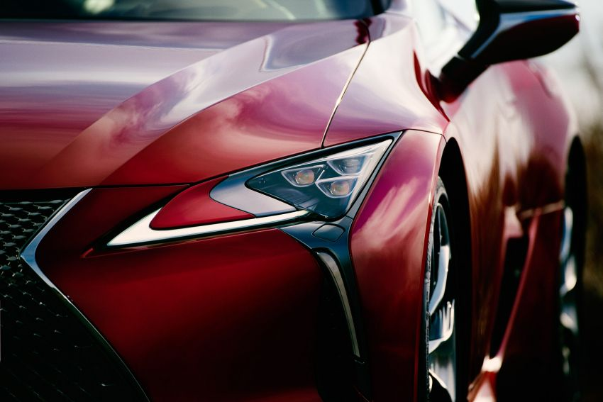 2020 Lexus LC500 launched in Malaysia – lighter and now with active safety systems; from RM1.25 million Image #1124542