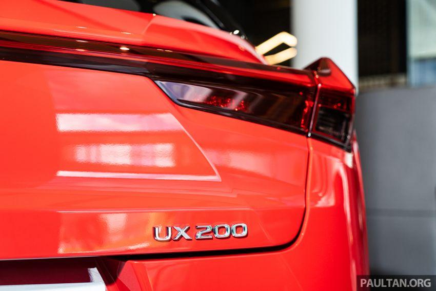 GALERI: Lexus UX 200 Urban 2020 – RM243,888 Image #1126123