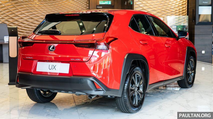 GALERI: Lexus UX 200 Urban 2020 – RM243,888 Image #1126130