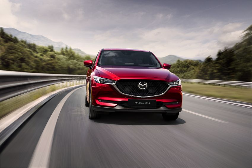 2020 Mazda CX-5 in Europe – new Polymetal Grey, cylinder deactivation, improved refinement and safety Image #1133984