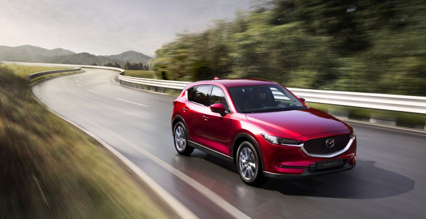2020 Mazda CX-5 in Europe – new Polymetal Grey, cylinder deactivation, improved refinement and safety Image #1133986