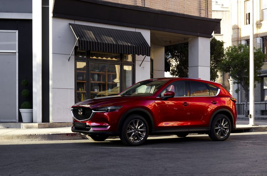2020 Mazda CX-5 in Europe – new Polymetal Grey, cylinder deactivation, improved refinement and safety Image #1133988