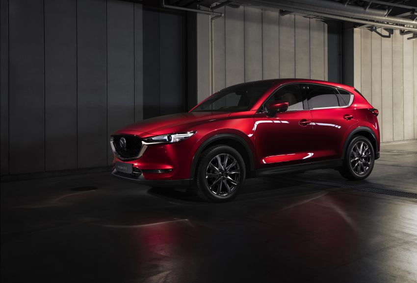 2020 Mazda CX-5 in Europe – new Polymetal Grey, cylinder deactivation, improved refinement and safety Image #1133992