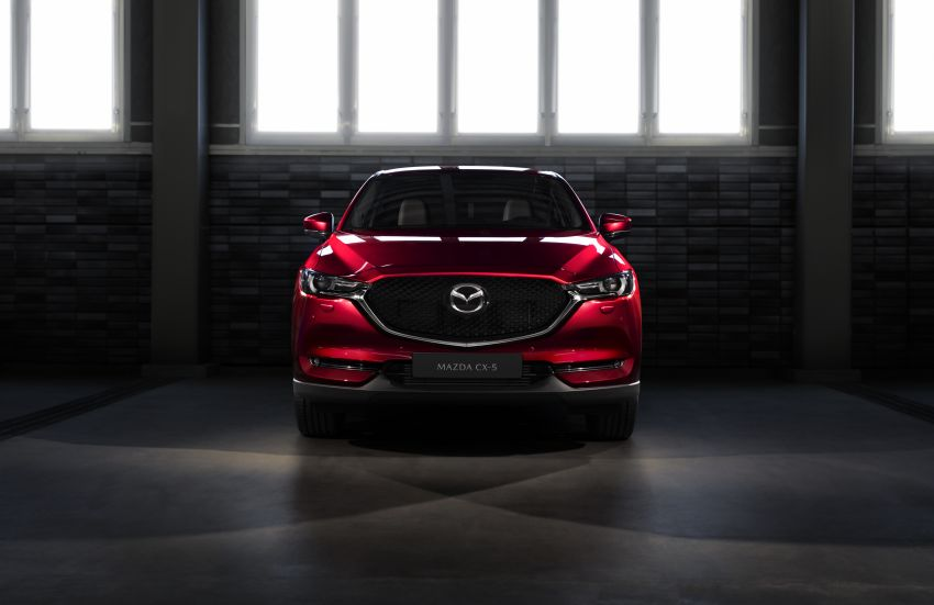 2020 Mazda CX-5 in Europe – new Polymetal Grey, cylinder deactivation, improved refinement and safety Image #1133993