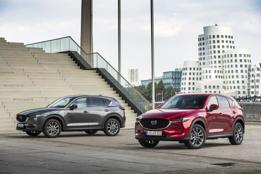 2020 Mazda CX-5 in Europe – new Polymetal Grey, cylinder deactivation, improved refinement and safety Image #1133976