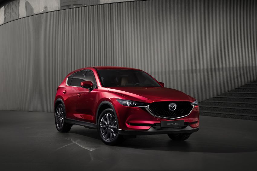 2020 Mazda CX-5 in Europe – new Polymetal Grey, cylinder deactivation, improved refinement and safety Image #1133994