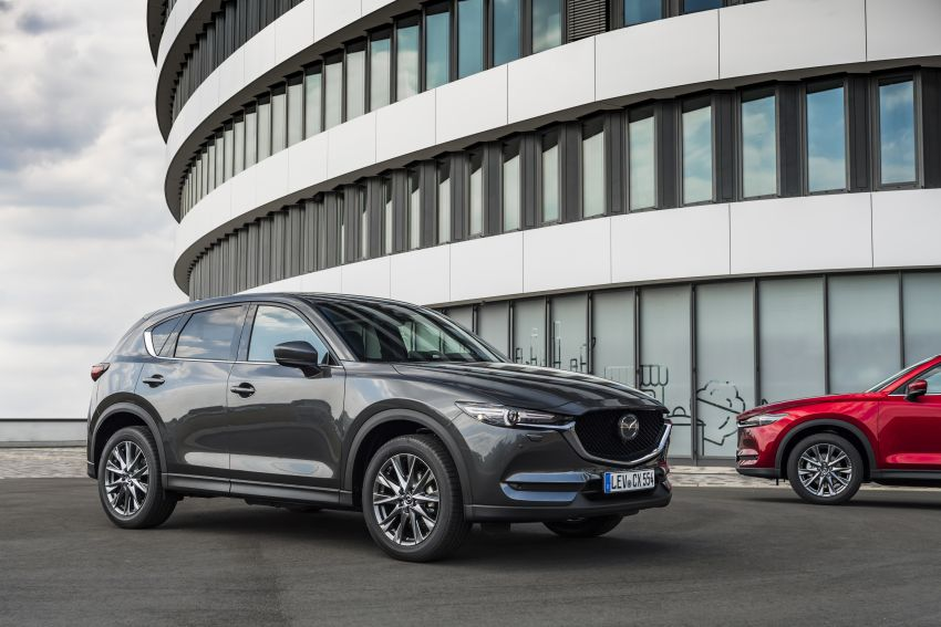 2020 Mazda CX-5 in Europe – new Polymetal Grey, cylinder deactivation, improved refinement and safety Image #1133977