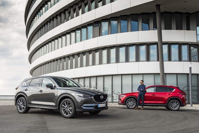 2020 Mazda CX-5 in Europe – new Polymetal Grey, cylinder deactivation, improved refinement and safety Image #1133978
