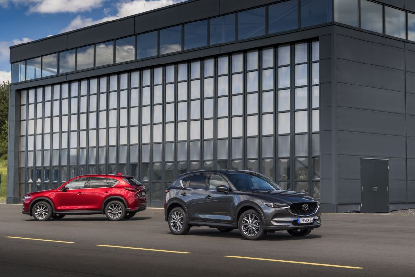2020 Mazda CX-5 in Europe – new Polymetal Grey, cylinder deactivation, improved refinement and safety Image #1133979