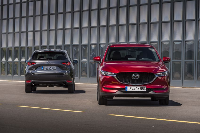 2020 Mazda CX-5 in Europe – new Polymetal Grey, cylinder deactivation, improved refinement and safety Image #1133980