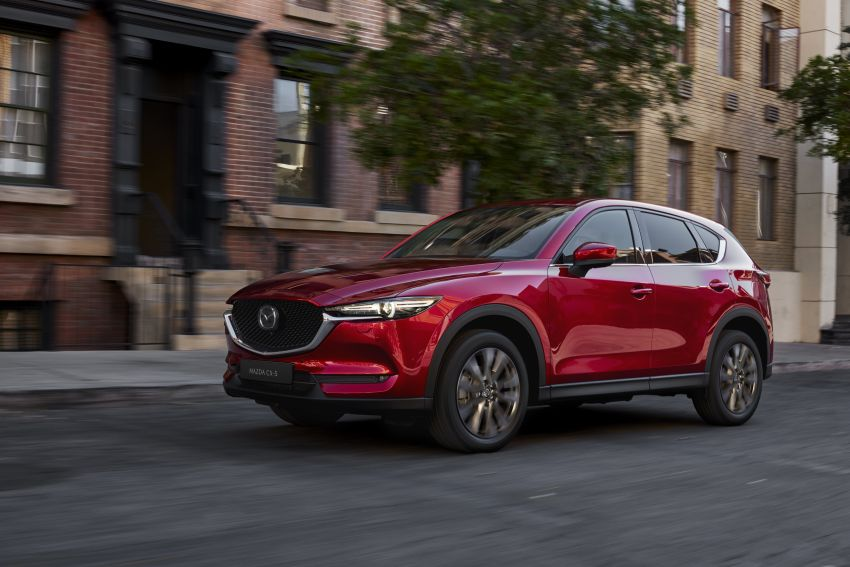 2020 Mazda CX-5 in Europe – new Polymetal Grey, cylinder deactivation, improved refinement and safety Image #1133982