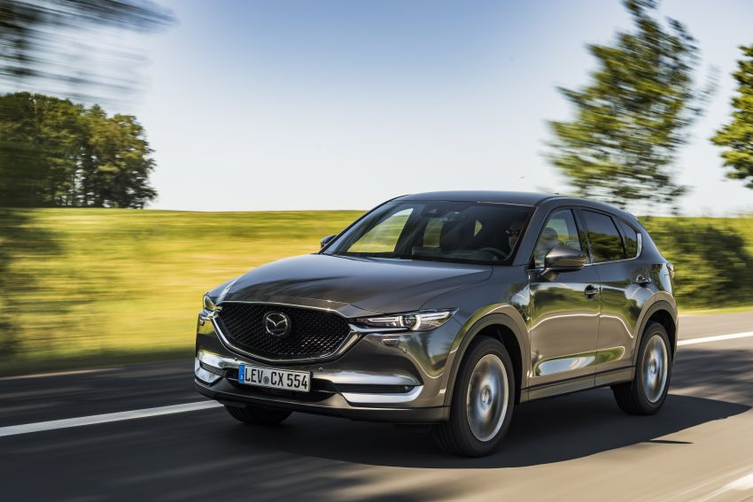 2020 Mazda CX-5 in Europe – new Polymetal Grey, cylinder deactivation, improved refinement and safety Image #1137479