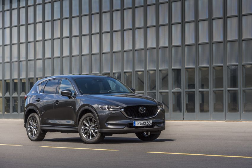2020 Mazda CX-5 in Europe – new Polymetal Grey, cylinder deactivation, improved refinement and safety Image #1137512