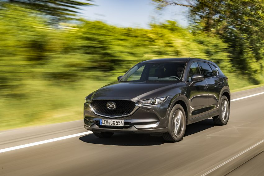 2020 Mazda CX-5 in Europe – new Polymetal Grey, cylinder deactivation, improved refinement and safety Image #1137481
