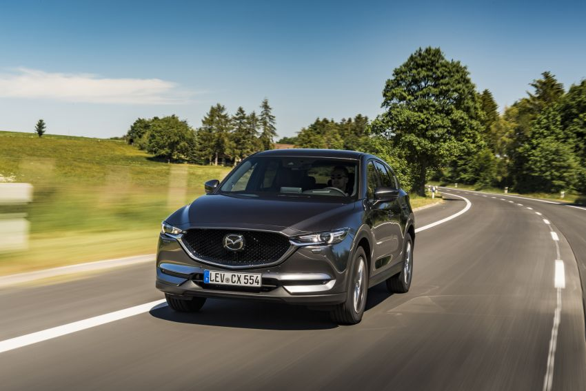 2020 Mazda CX-5 in Europe – new Polymetal Grey, cylinder deactivation, improved refinement and safety Image #1137482