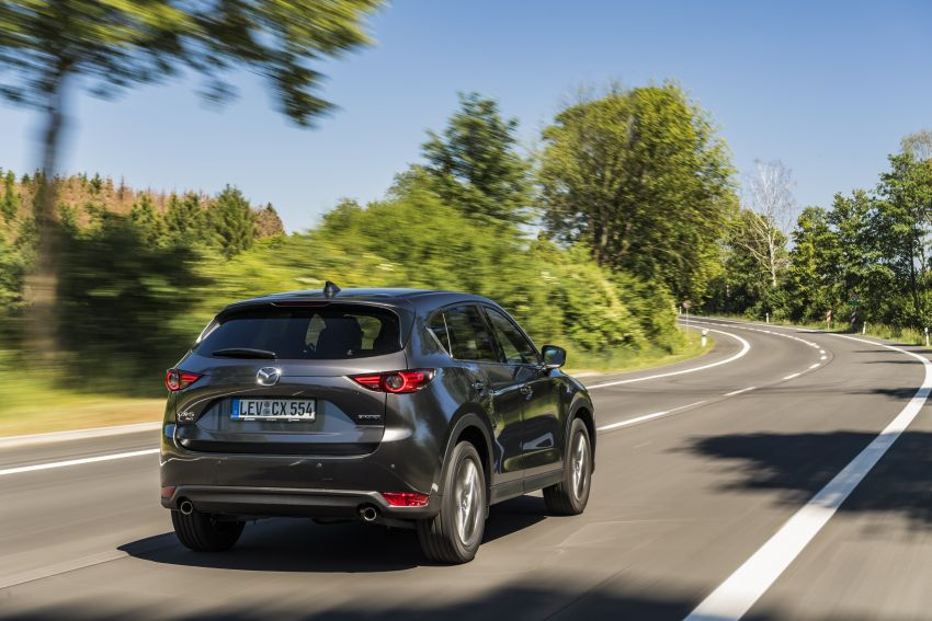 2020 Mazda CX-5 in Europe – new Polymetal Grey, cylinder deactivation, improved refinement and safety Image #1137483