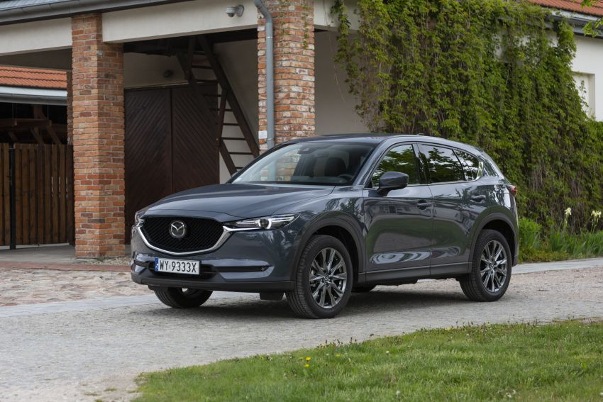 2020 Mazda CX-5 in Europe – new Polymetal Grey, cylinder deactivation, improved refinement and safety Image #1137641
