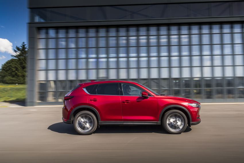 2020 Mazda CX-5 in Europe – new Polymetal Grey, cylinder deactivation, improved refinement and safety Image #1137398