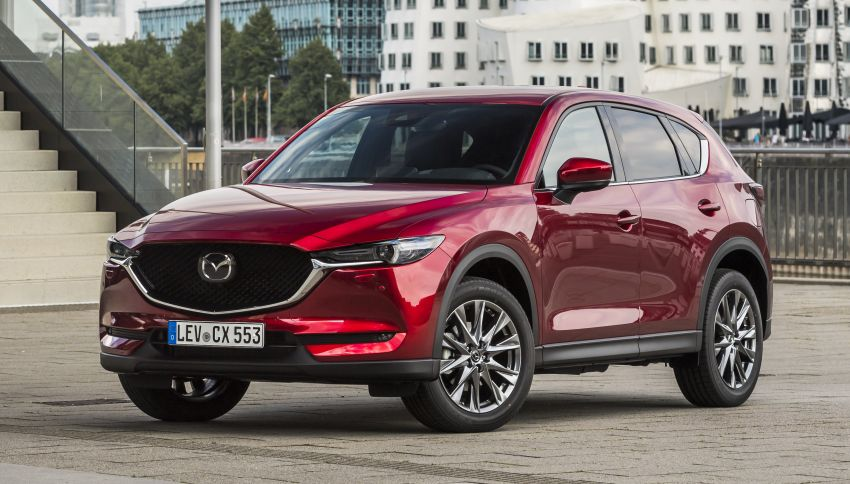 2020 Mazda CX-5 in Europe – new Polymetal Grey, cylinder deactivation, improved refinement and safety Image #1137409