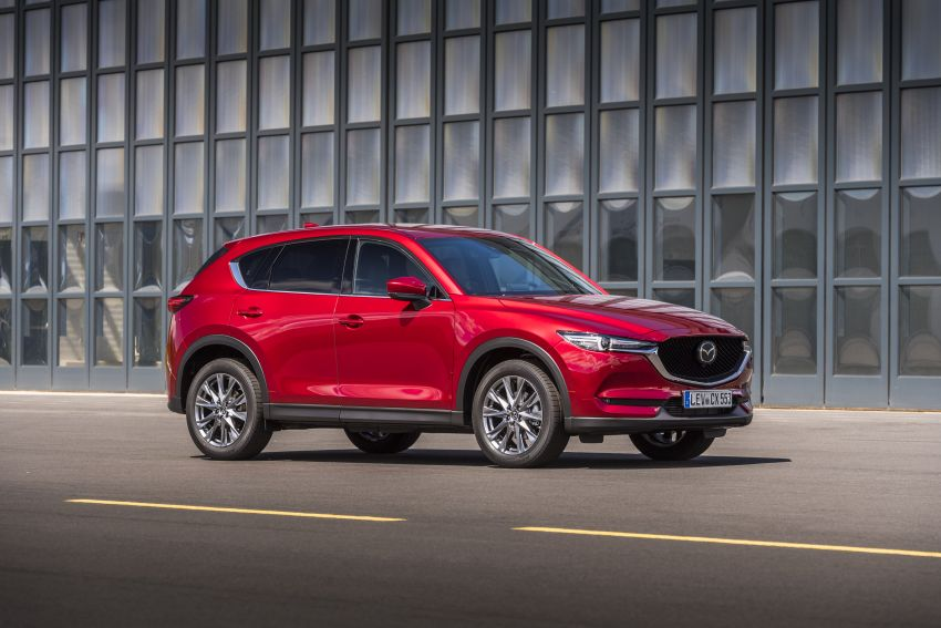 2020 Mazda CX-5 in Europe – new Polymetal Grey, cylinder deactivation, improved refinement and safety Image #1137419