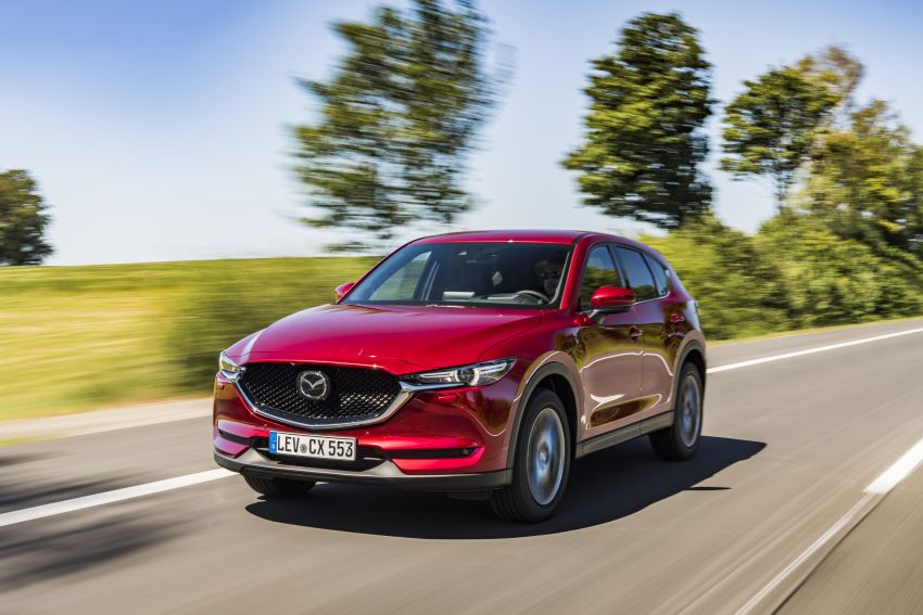 2020 Mazda CX-5 in Europe – new Polymetal Grey, cylinder deactivation, improved refinement and safety Image #1137388