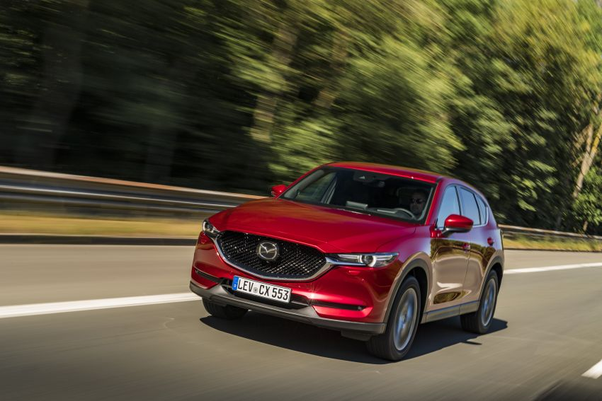 2020 Mazda CX-5 in Europe – new Polymetal Grey, cylinder deactivation, improved refinement and safety Image #1137393