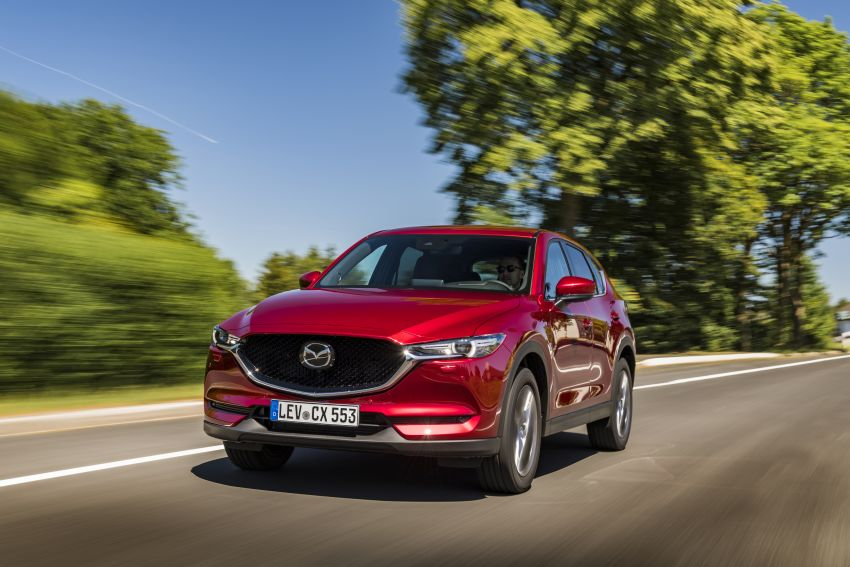 2020 Mazda CX-5 in Europe – new Polymetal Grey, cylinder deactivation, improved refinement and safety Image #1137394