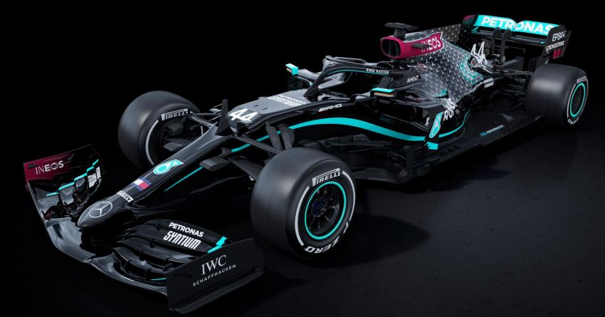 Mercedes AMG Petronas F1 team reveals new all-black livery for the W11 ahead of 2020 F1 season opener Image #1138419