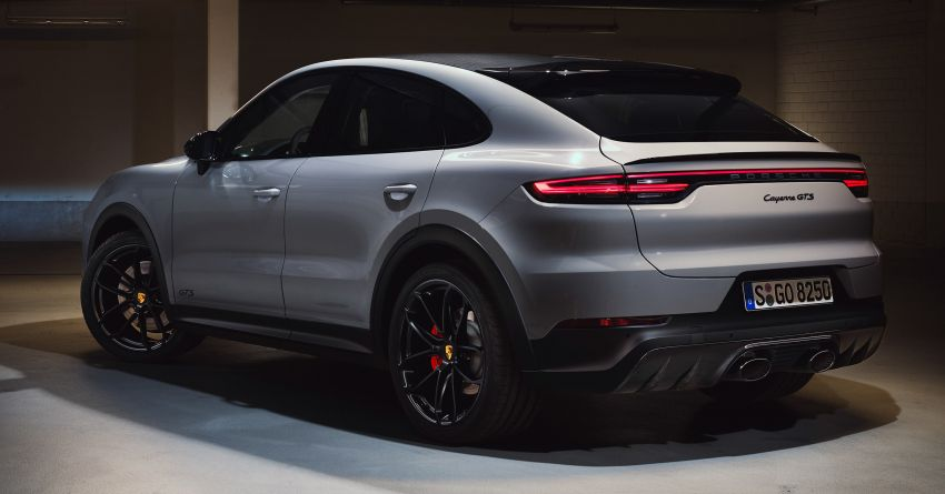Porsche Cayenne GTS dan Cayenne GTS Coupe didedahkan –  4.0L V8 bi-turbo, 460 PS/620 Nm Image #1129883