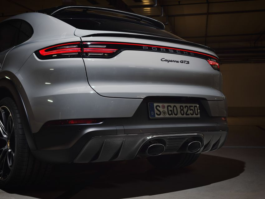 Porsche Cayenne GTS, Cayenne GTS Coupe revealed – 4.0L twin-turbo V8 with 460 PS and 620 Nm; 270 km/h Image #1129739