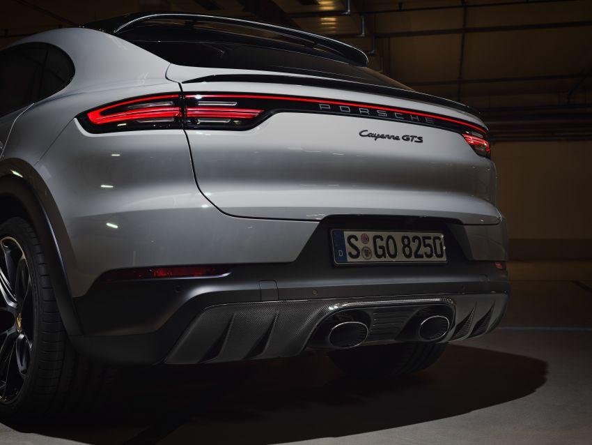 Porsche Cayenne GTS dan Cayenne GTS Coupe didedahkan –  4.0L V8 bi-turbo, 460 PS/620 Nm Image #1129880