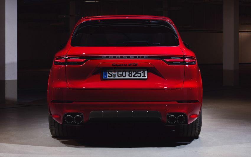 Porsche Cayenne GTS dan Cayenne GTS Coupe didedahkan –  4.0L V8 bi-turbo, 460 PS/620 Nm Image #1129876