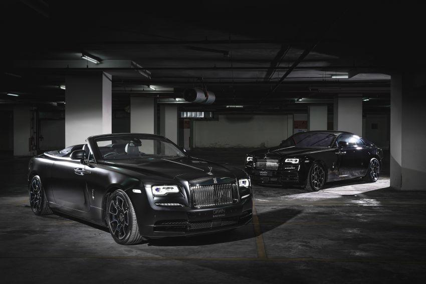 Rolls-Royce Black Badge tiba di M'sia – pakej tingkat taraf lebih sporty untuk Ghost, Wraith, Dawn, Cullinan Image #1138620