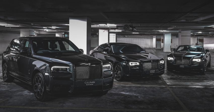 Rolls-Royce Black Badge family launched in Malaysia – Ghost, Wraith, Dawn & Cullinan on sale, fr RM1.4 mil Image #1138429