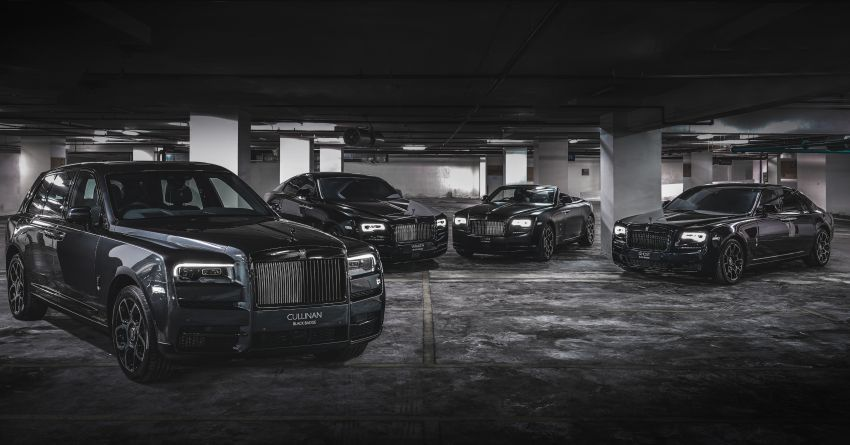 Rolls-Royce Black Badge family launched in Malaysia – Ghost, Wraith, Dawn & Cullinan on sale, fr RM1.4 mil Image #1138430