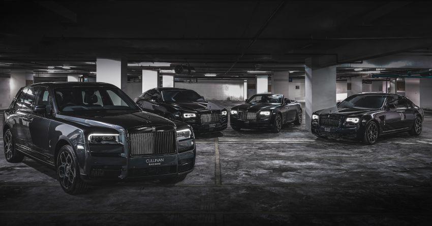 Rolls-Royce Black Badge tiba di M'sia – pakej tingkat taraf lebih sporty untuk Ghost, Wraith, Dawn, Cullinan Image #1138618
