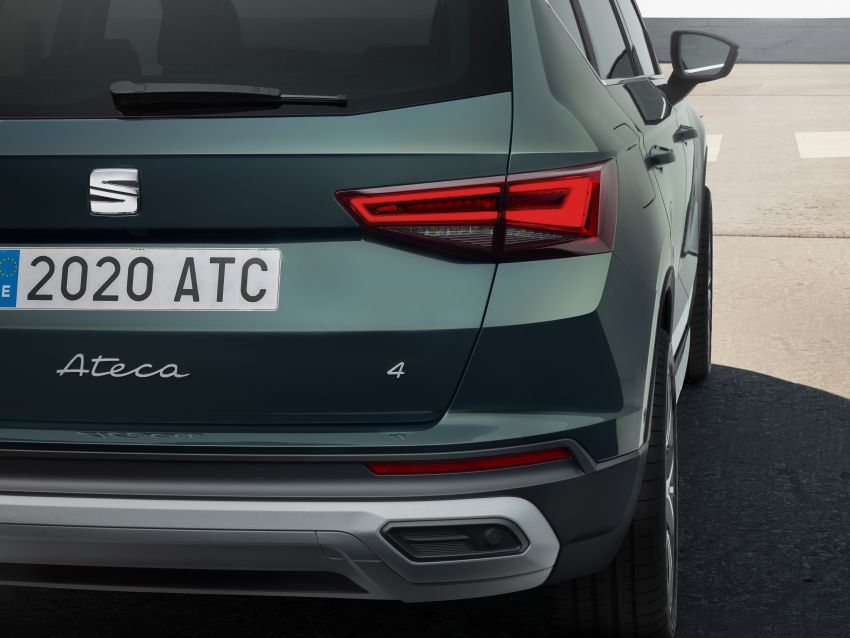 2020 Seat Ateca facelift gets latest tech, powertrains Image #1130923
