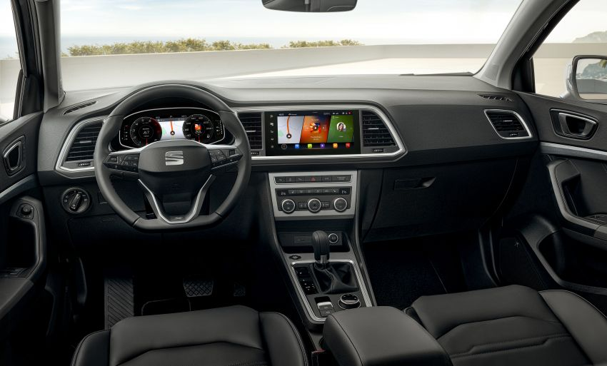 2020 Seat Ateca facelift gets latest tech, powertrains Image #1130924