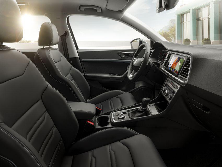 2020 Seat Ateca facelift gets latest tech, powertrains Image #1130925